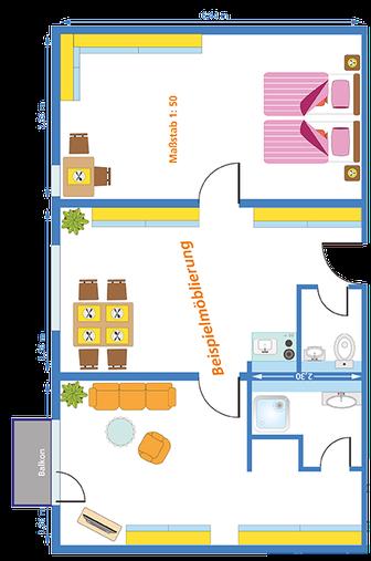 appartements erlebniswohnstift vitalis in n rnberg. Black Bedroom Furniture Sets. Home Design Ideas