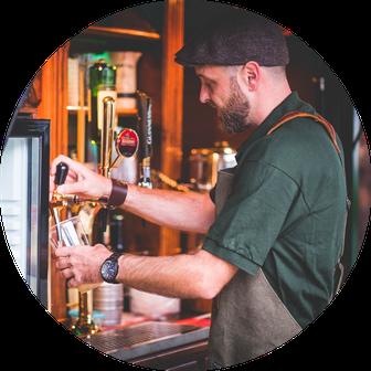 das erste mobile Irish Pub auf drei Rädern