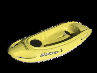 BIC Ouassou Kajak 1 Person Kajak leichtes Kayak für Autodach ein Mann Kayak für Urlaub Höfner-Boote®