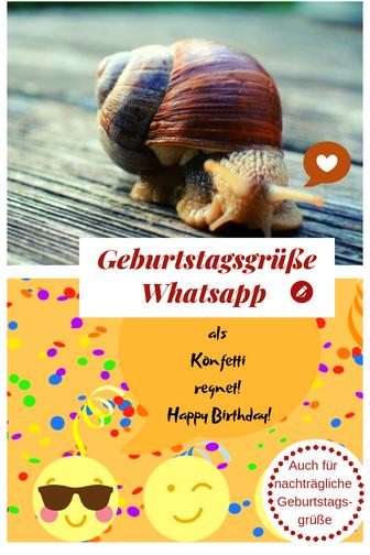 Whatsapp Geburtstag