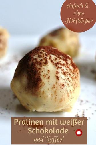 Weiße Schokolade #pralinen #geschenkeausderküche #weihnachten