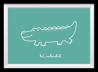 Illustration - Krokodil