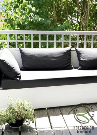wetterfeste Loungesofa für Garten oder Terrasse