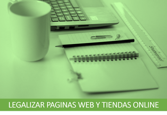 Legalización de páginas web y tiendas online