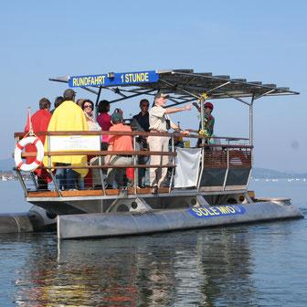 Naturkundliche Solarbootfahrt mit dem NABU