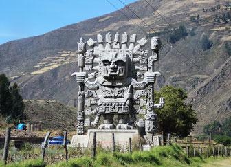 Statue à Urubamba