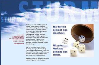 Werbefachmann mit Ideen und Allround-Erfahrung. Foto. Text. Marketing.