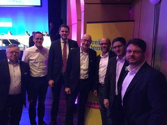 Eckahrd Fuhrmann, Thorsten Baumgart, Patrick Büker, Hermann Ludewig, Christian Martin, Dirk Bursian, Simon Liekam