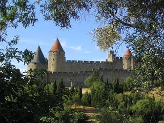 château comtal Cité de Carcassonne