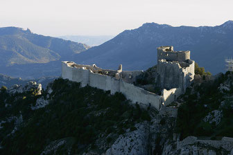 chateau Pays cathare de Peyrepertuse