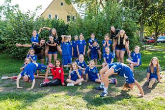 """""""Coach-the-Coach"""" Team und Mannschaft im Sommer 2020, Foto Nicole Friederichs"""