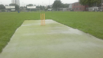 Match abandoned after 30 overs