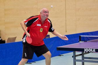 Punktegarant Tomas Janci schlug wieder dreimal zu. Copyright: Österreichische Tischtennis Bundesliga/ JM Foto