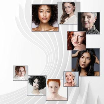 Beauty Hills, Kosmetik, Systemkosmetik, Frauen, Gesichter, Diversity, Sonderpflege