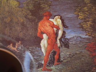 involuté l'enlèvement de paul cézanne