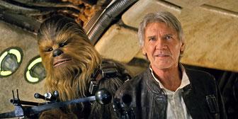 Gealtert aber immer noch gut - Han und Chewie [Quelle: Disney]