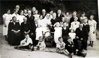 Hochzeit in Sickingen 1934