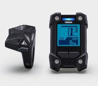 Das Yamaha Display X eignet sich für e-Mountainbikes und verfügt über ein robustes Gehäuse