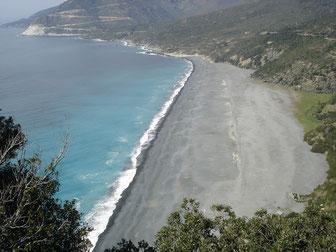 plage de Nonza