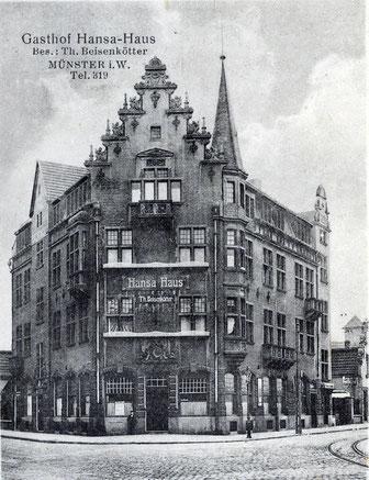 Das Hansa-Haus 1920
