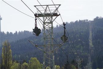 Holcim will eine neue Seilbahn auf den Plettenberg bauen.