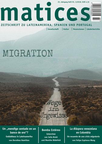 Ausgabe 95: Migration - Wege ins Ungewisse