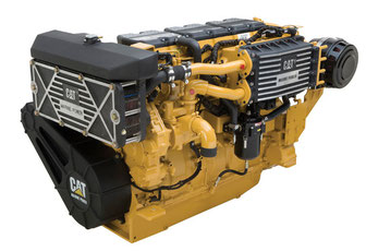 CAT C18 Caterpillar भारत में समुद्री इंजन