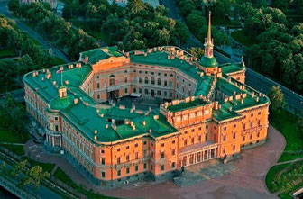 Saint Petersburg-Mikhailovsky Castle
