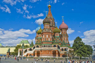 Moscow-St. Basil's Cathedral