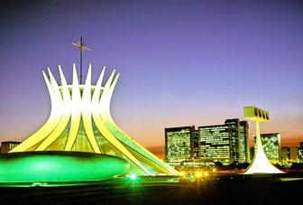 Brasília (Brazil)-Cathedral