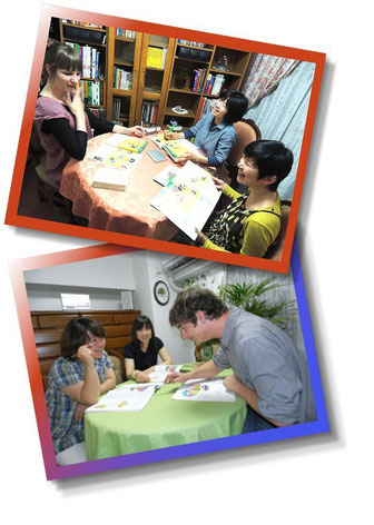 Semi Private Lessons at EuroLingual Language School (Osaka, Umeda) are suitable for partners, colleagues or friends.