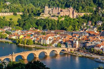 Heidelberg-Schloss Alte Brücke