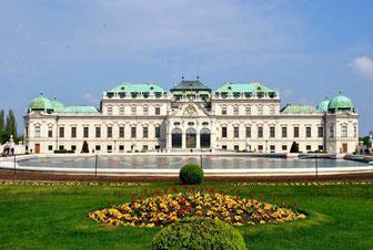 Vienna (Austria)-Belvedere Palace