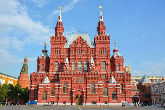 Moscow-State History-Museum-Red Square