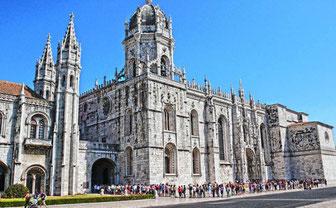 Lisbon (Portugal)-Monastery dos Jerónimos