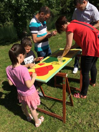grand jeu, tangram, famille, jeu en bois, entre Cognac et Saintes