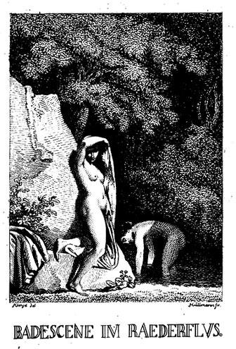 Kupferstich von J. C. Klengel und G. W. Hüllmann, 1790