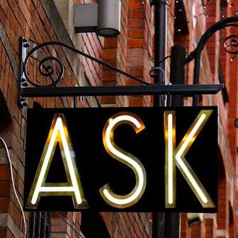 Fragen stellen und Antworten  - Der Oktober im monatlichen Feng Shui Blog von Eva Hochstrasser