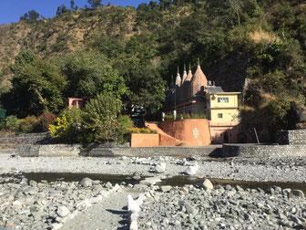 Haidakhan Babaji ashram, Gufa side, divine mother temples