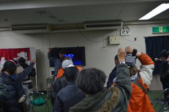 越年・越冬を闘う決意を固める釜ヶ崎労働者(12月28日)