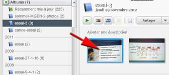 Double-cliquer sur une photo dans Picasa