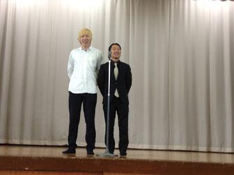 名古屋お笑い芸人 ファニーチャップ 敬老会で漫才