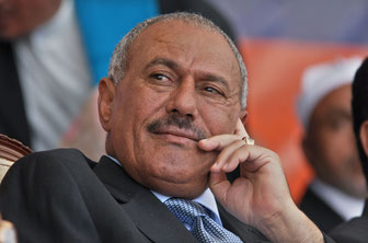 Bild: Wall Street Journal - Ali Abdullah Saleh 2011 - Präsiden Jemen bis 2015