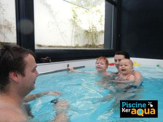 piscine Rennes Saint jacques cours de natation bébé nageur stage vacances