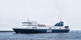 Das Schiff der neuen Strecke - die Optima Seaways