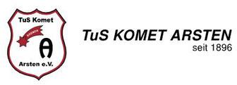 TuS Komet Arsten seit 1896 - Logo