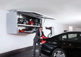 Garagebox von Biohort im Einsatz - © Biohort