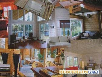 Im Blockhaus wohnen, bedeutet gesundes Wohnen - Blockhausbau - Allergikerhaus - Ökohaus - Biohaus - Niedersachsen - Harz - Wann ist ein Holzhaus ein echtes Blockhaus?  Sind alle Holzhäuser gesund? Bauen mit Holz - Holzbaus