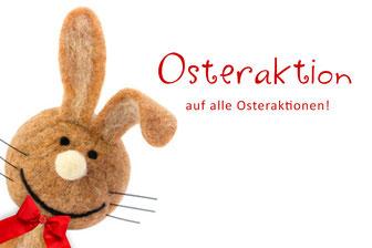 Osteraktionen im März auf alle Osteraktionswerbung