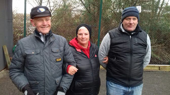 v.l. Erwin, Sybille und Dieter